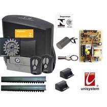 Kit Motor Portão Eletrônico Veloz Linha Dz Ppa 800 1/2 Hp
