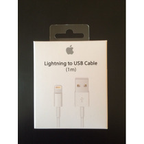 Cargador Lightining Original Iphone 6s 5s 6 5c 5 7 Ipod Ipad