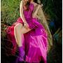 Hermoso Vestido De Fiesta/15/recepcion;bordado;tres Piezas