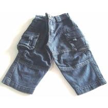Calça Para Bebê Masculino Jeans 100% Algodão Claire De Ange