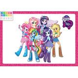 Kit Imprimib Personalizado Equestria Girls Incluye Candy Bar