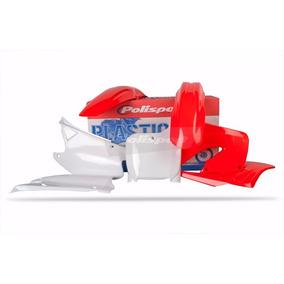 Kit Plásticos Honda Cr 125/250 2000-2001 Polisport Oem Color