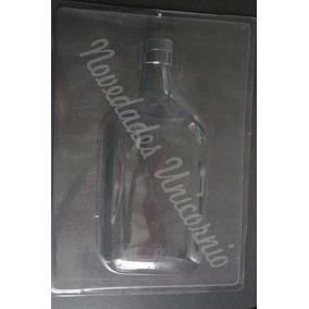 Molde Jumbo Gelatina Artistica Botella Whisky Buchanans