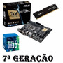 Kit Proc. I5 7500+ Mb Asus H110m-c Ddr4+ 8 Gb Fury - Testado