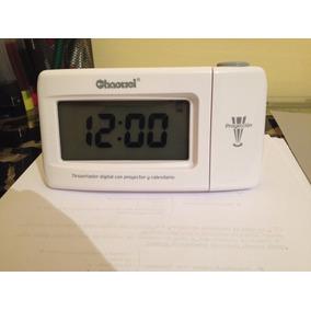 Reloj Despertador Digital Con Proyector Como Nuevo!