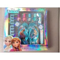 Set De Spa Esmaltes Sandalias Frozen Disney