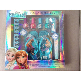 Set De Spa Esmaltes Sandalias Frozen Disney