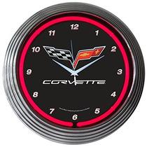 Neonetics Automóviles Y Motocicletas Corvette C6 Neón, Relo
