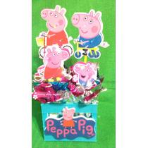Peppa Pig Centro De Mesa Artículos De Fiesta