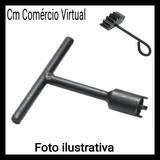 Kit Chave Castelo Bomba De Oleo 20mm Titan 150 + Trava
