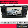 Autoradio Multimedia Corolla 2014-2016 Dvd-gps-tv Dig-bt