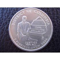 U. S. A. - Columbia, Moneda D 25 Centavos (cuarto), Año 2009