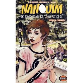 Hq Nanquim Descartável Vol #4 - História Completa- 96páginas