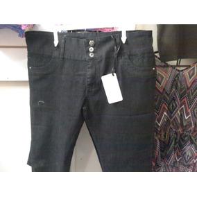 Jeans Capri Para Damas Talla Grande Estress