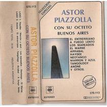 Astor Piazzolla Con Su Octeto De Buenos Aires - Cassette