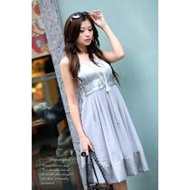 Eisuku 30704 Vestido Chiffon Corte Princesa Moda Asia $699