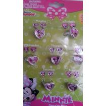Set De Anillos Plastico Disney Mimi! Envio Gratis