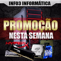 Kit Gamer Micro Intel I5 7400 7º Geração 8gb Ddr4 1tb Wifi