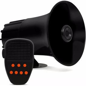 Sirene Policia 7 Sons + Microfone 40w