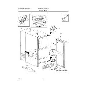 5304446643 Motor Condesador Ventilador Refrigerador