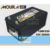 Bateria Moura Clean 12mf220 220ah Estacionaria Emporio