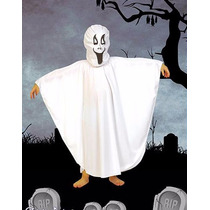 Disfraz Halloween Fantasma Completo Con Mascara! Jiujim