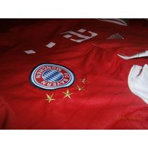 Camiseta Titular Bayer Munich Roja 2016