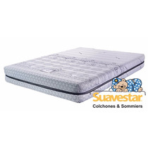 Colchon Suavestar Relax Stress Free Queen Size 200 X 160