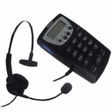 Base Com Headset Multitoc Para Operadorador Telemarketing