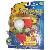 Pokebola Con Pikachu Giratoria Atrapa Jakks Pacific Oferta