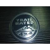 Emblema Trail Rated 4x4 Jeep Wrangler Nuevo