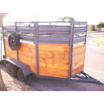 Vendo Trailer Doble Eje Para Caballo