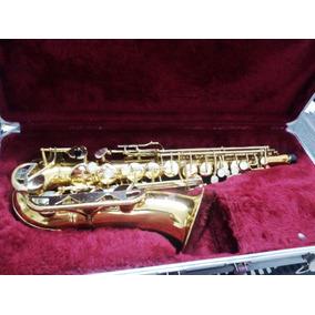 Saxofone Alto Mib Conn 18m Revisado Estojo Original Oferta