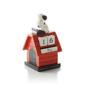 Calendario Hallmark Paj1121 Snoopy Perpetuo