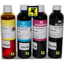 Tinta Para Recarga Y Sistemas Promo 4 X 250mlts Alta Calidad