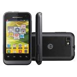 Celular Motorola Defy Mini Xt320 Camera 3mp, Wifi, 3g E Gps