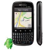 Celular Motorola Spice Key Xt316 Com Camera, Mp3, 3g, Gps