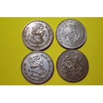 Moneda De 1 Peso Tepalcate De 1957 A 1965