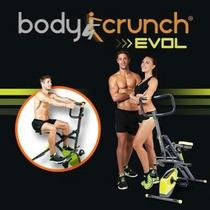 Body Crunch Evolution Original Nuevo Con Bicicleta Magnética