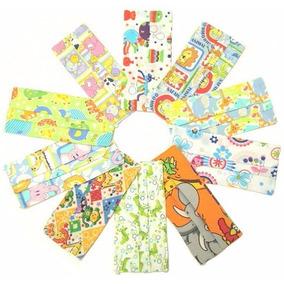 Cubrebocas Infantiles De Tela Estampados Reutilizables