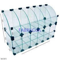 Baleiro De Vidro - 0,60 X 0,40 X 0,20