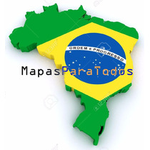Mapas 2017 De Brasil P/ Gps