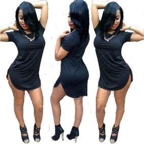 Remeron Largo Calzas Mujer Algodon Long Fit Tipo Vestido