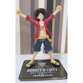 One Piece Boneco Monkey D. Luffy - Dead Or Live