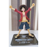 One Piece Boneco Monkey D. Luffy - Dead Or Live