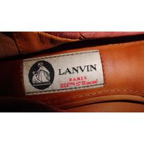 Gcci Flats Lanvin Originales Usados 3.5mx Fndi Coah Ganalos¡