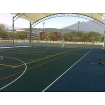 Pintura Para Canchas De Tenis Basquetbol Volleybol Futbol