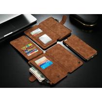 Funda Cartera 2 En 1 Piel Iphone 7 Plus Envio Gratis
