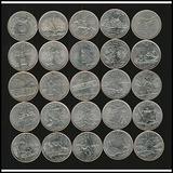 Coleccion De 25 Monedas De 25 C. Usa
