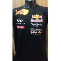 Camisa Camiseta Formula 1 F1 Red Bull Corrida Regata